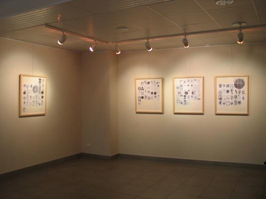 """Exposition """"Ephéméride"""", Espace Art Plastique, Saint Vallier, mai 2006"""