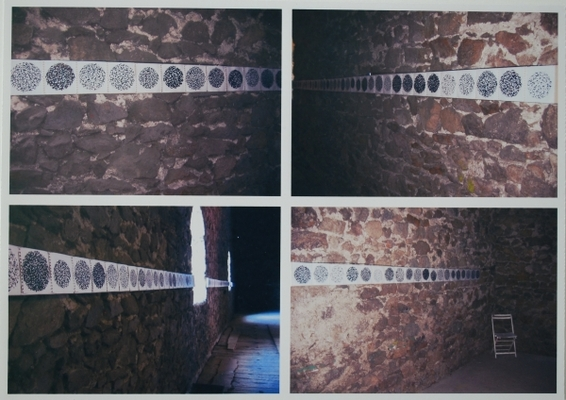 """Exposition """"2 temps, 3 mouvements"""", CIRK, Quintenas, été 2004."""