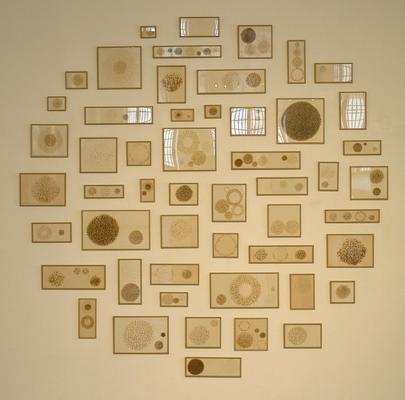 pyrogravure sur carton, 2003-2005
