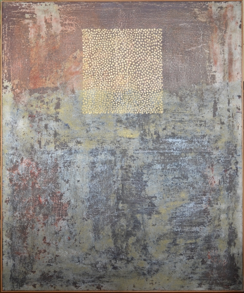 huile sur toile/chassis, 121 x 101 cm, 1985