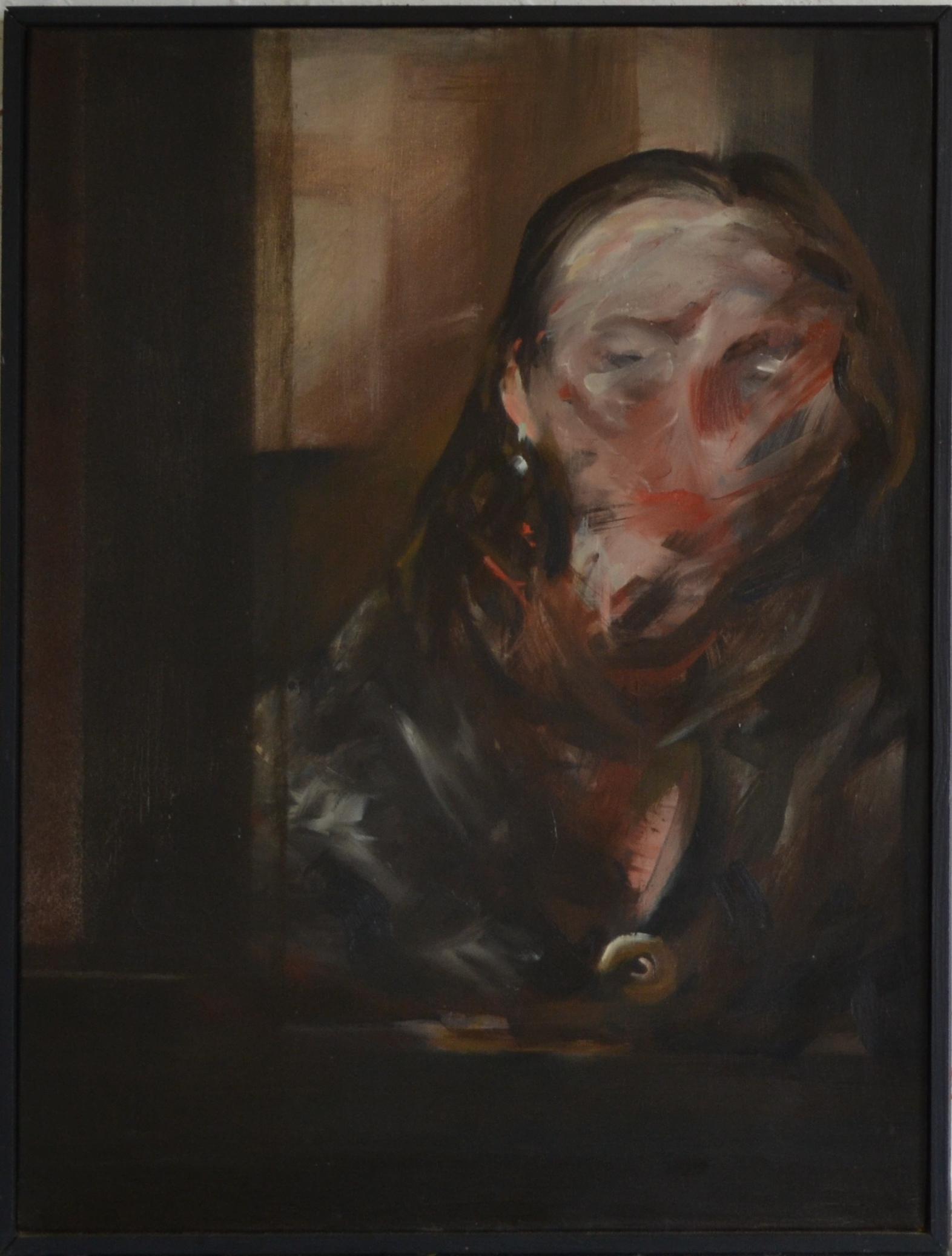 huile sur toile/chassis, 63 x 48 cm, 1981